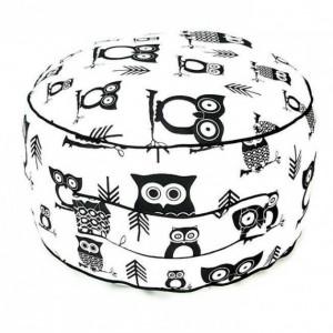 Floor cushion - toddler cushion - toddler pouf - toddler pillow - owl floor cushion - owl pouf - owl nursery decor - toddler floor chair