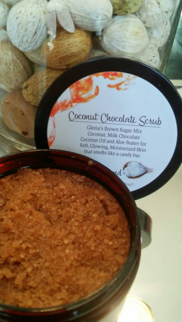 Coconut Chocolate Scrub