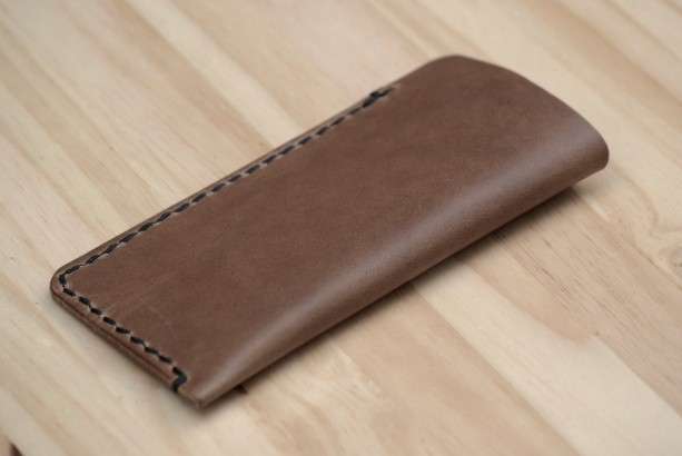 Leather Sunglasses Case, Leather Glasses Case, Leather Reading Glasses Case, Chromexcel Glasses Case, Horween Glasses Case