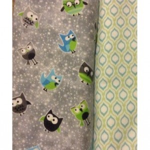 Woodland baby name blanket Large Flannel baby girl Blanket baby boy blanket toddler owl forest nursery