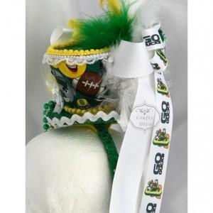 University of Oregon Ducks Emoji Mini Top Hat Fascinator Headband