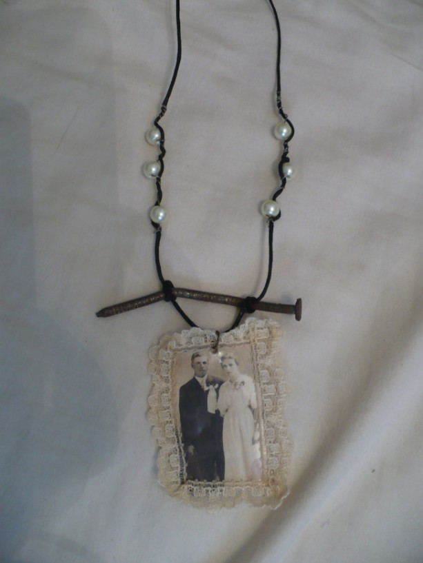 The Married Couple Found Object Necklace