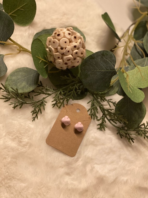 Single Knot Polymer Clay Earrings