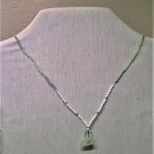 Green Sprakles Necklace