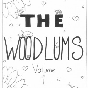 The Woodlums Volume 1 Coloring Book