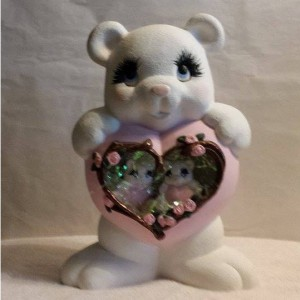 Heart Bear with two nesting bears