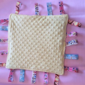 Baby Tag Security  Blanket Princesses