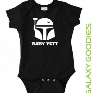Baby Fett - Star Wars Baby Onesie