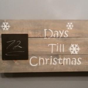 Days Till Christmas / Countdown To Christmas