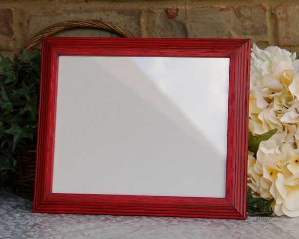 Red Country Wall Decor : Country farmhouse red wall collage picture frame