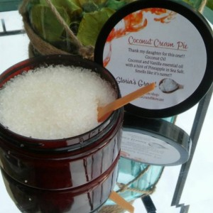 Coconut Cream Pie Body Scrub