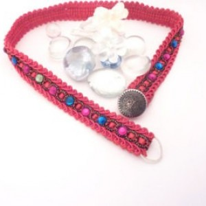 Crystal Jewels Elegant Choker Wrap bracelet