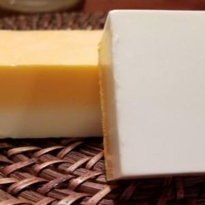 Set Of 3 Super Awesome Loaf Soap (Orange & White)