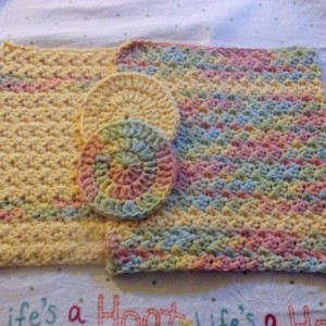 Cotton Washcloth Set with Bonus