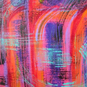 Colorful Acrylic painting, 18 x 24 Art, Large Abstract Canvas Art, Colorful Artwork, Fine Art Painting, Large Contemporary Art, Colorful Art