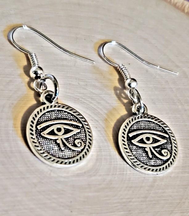 Eye of Horus / All Seeing Eye Earrings