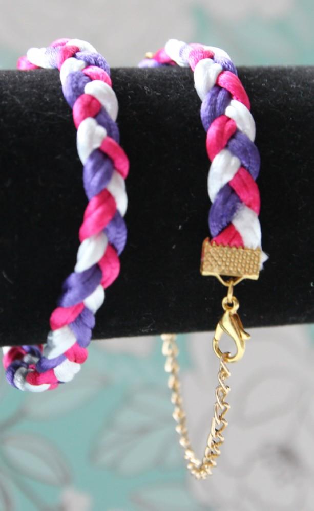 Braded bracelets