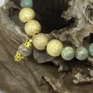 Gold bracelet, Wedding bracelet, Green and gold bracelet, tribal bracelet, Gold Bracelet, Green bracelet, Stone bead bracelet