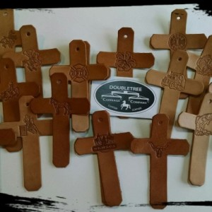Custom Leather Crosses