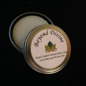 White Tea & Thyme Lotion Bar In Tin|Handmade|All Natural