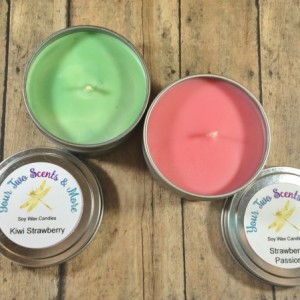 Candle Gift Set, Scented Soy Candle, Handmand Candle, Soy Wax Candle, Natural Candle, Vegan Candle, Eco Friendly Candle, 6 Oz Candle Tins