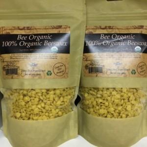 Bulk Beeswax Pastilles - 100% Organic USDA Certified