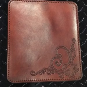 Leather Mouse Pad, Regular Size