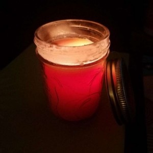 Custom Half-Pint (8 oz) Paraffin Wax Mason Jar Candle