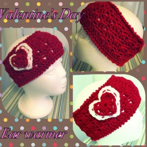 Valentine's Day Ear Warmer