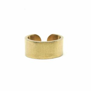 SAINT RING: 18-KARAT GOLD (MATTE)