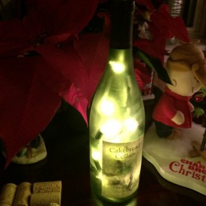 Decorative Wine Bottle Light Lamp