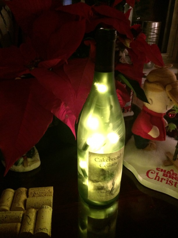 Decorative Wine Bottle Light Lamp