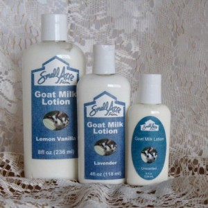 Lemon Vanilla Goat Milk Lotion - 4oz