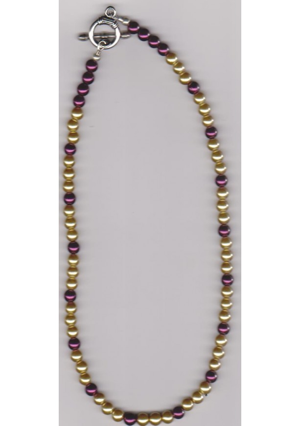 Royal Crimson Beaded Necklace