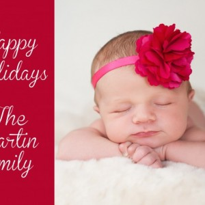Customizeable Holiday Greeting Card