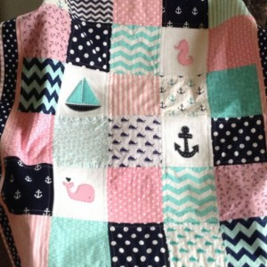 ADORABLE COASTAL QUILT