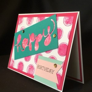 Hand Stamped Best Friend Birthday Card, Friend Birthday Card, Girlfriend Bday Card, Birthday Card BFF, You Are My Person, Birthday Her Card