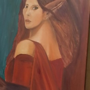 Elf Oil Painting 16 x 20