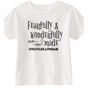 Fearfully and Wonderfully made top