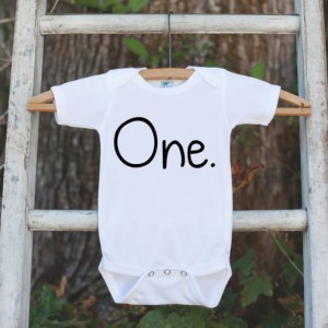 First Birthday Shirt for Boys - One First Birthday Onepiece For Boys's 1st Birthday Party - Boy Birthday Outfit - Kids First Birthday Top