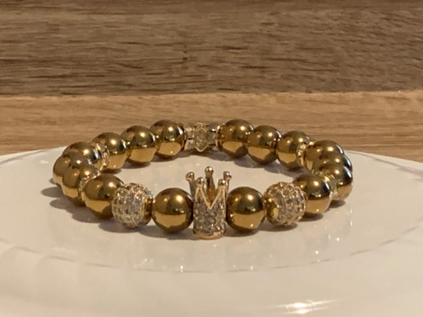Golden Royalty Bracelet