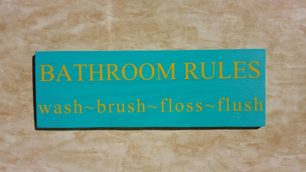 handmade wooden sign, rustic home decor, wood wall art, rustic wall decor, home decor, wooden sign, bathroom decor, bathroom sign