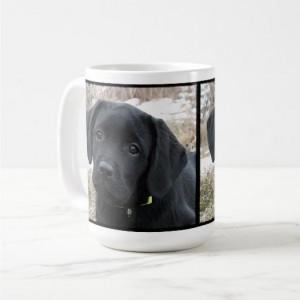 Black Lab Mug 6AS- Labrador Mug - Black Lab Gifts - Labrador Gifts - Lab Dog - Lab Mom - Labrador Retriever - Black Dog Art - Black Lab Art