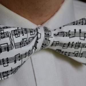 Music Bow Tie, Musical Bow Tie, Men's Bow Tie, Self-Tie Bow Tie, Self Tie Bow Tie, Men's Tie, Men's Necktie, Black Bow Tie, White Bow Tie,