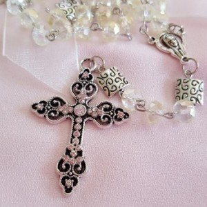 Yellow Rosary Beads