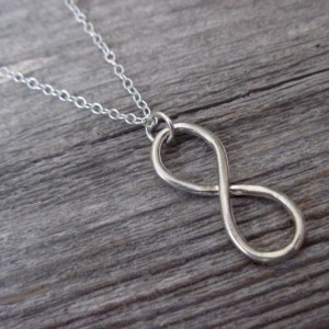 Men's Necklace - Men Infinity Necklace - Men's Silver Necklace - Men's Jewelry - Men Jewelry - Men Necklace - Boyfriend Gift - Guys Necklace