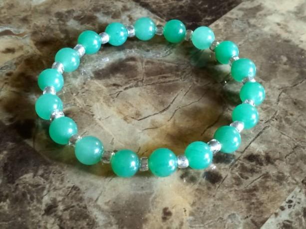 Healing Green Aventurine Ladies Gemstone Bracelet