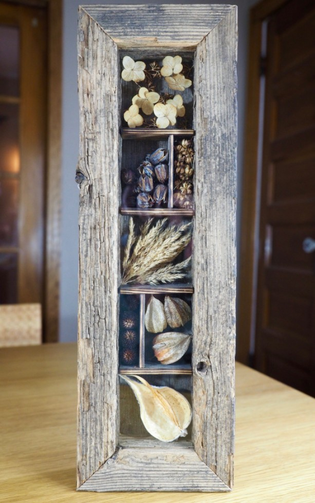 Rustic Nature Shadow Box Decor Aftcra