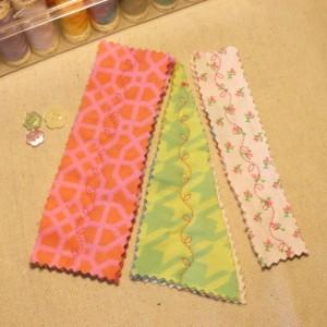 Soft Flannel/Fleece Bookmarks - Set of 3