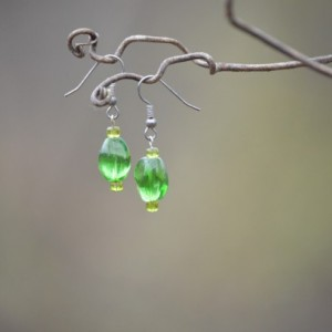 Green Sea Earring